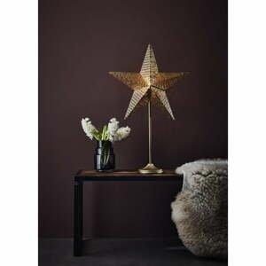 Vianočná svetelná dekorácia v zlatej farbe Markslöjd Rustic