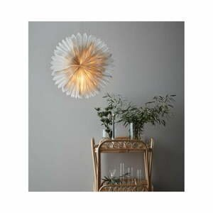 Sivá vianočná závesná svetelná dekorácia Markslöjd Solina, výška 60 cm
