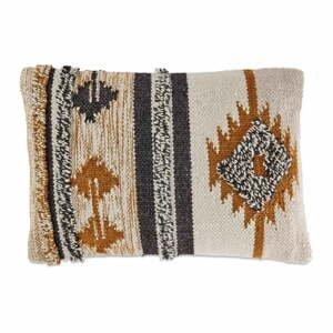 Obliečka na vankúš z bavlny a vlny Nkuku Tussi Sia, 60 x 40 cm
