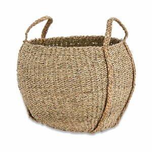 Úložný košík z morskej trávy Nkuku Rundi, ø 38 cm