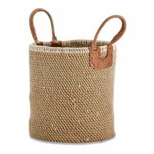 Úložný košík z morskej trávy Nkuku Indra, ø 38 cm