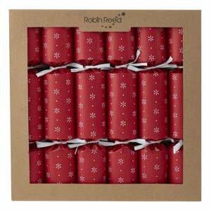Súprava 6 vianočných crackerov Robin Reed Paper Decorations