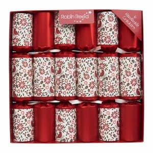Súprava 6 vianočných crackerov Robin Reed Haversham