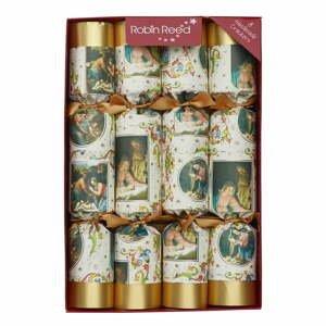 Súprava 8 vianočných crackerov Robin Reed Nativity