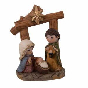 Betlehemská vianočná dekorácia Unimasa, výška 11,5 cm