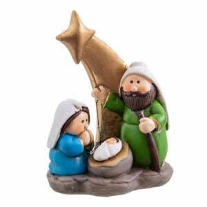 Betlehemská vianočná dekorácia Unimasa, výška 8,8 cm