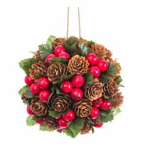 Závesná vianočná dekorácia Unimasa, ø 12 cm