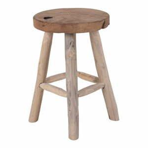 Tíková stolička so 4 nohami House Nordic Badia, ø 30 cm