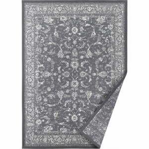Sivý obojstranný koberec Narma Sagadi, 100 x 160 cm