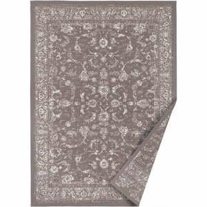 Tmavo-hnedý obojstranný koberec Narma Sagadi, 70 x 140 cm