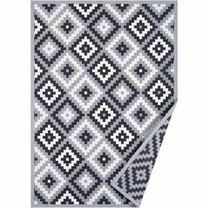 Sivý obojstranný koberec Narma Saka, 100 x 160 cm