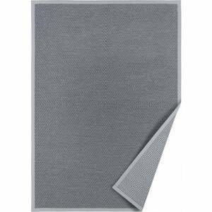 Sivý obojstranný koberec Narma Vivva, 80 x 250 cm