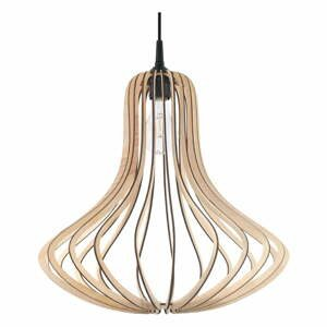 Béžové závesné svietidlo Nice Lamps Cogus