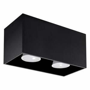 Čierne stropné svietidlo Nice Lamps Geo
