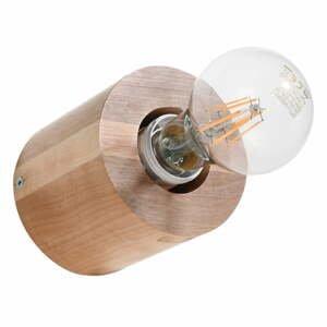 Drevené nástenné svietidlo Nice Lamps Elia