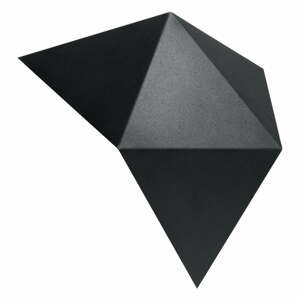 Čierne nástenné svietidlo Nice Lamps Estel