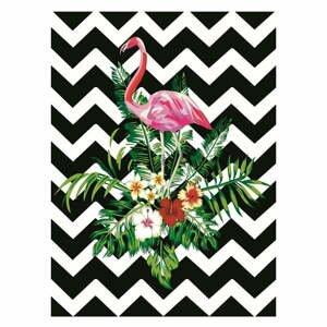Koberec Rizzoli Flamingo, 80 x 140 cm