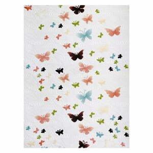 Koberec Rizzoli Butterflies, 80 x 140 cm