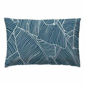 Súprava 2 modrých bavlnených obliečok na vankúš Marghett Banama, 50 x 75 cm