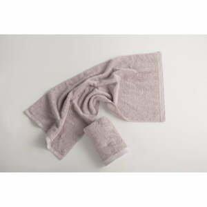 Svetlosivý bavlnený uterák El Delfin Lisa Coral, 30 x 50 cm