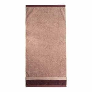Červená bavlnená osuška Ethere Banda Vino, 100 x 150 cm