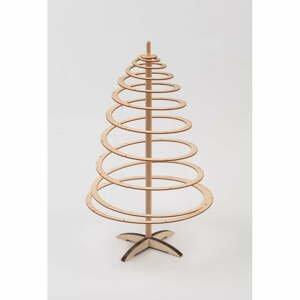 Drevený dekoratívny vianočný stromček Spira Mini, výška 42 cm