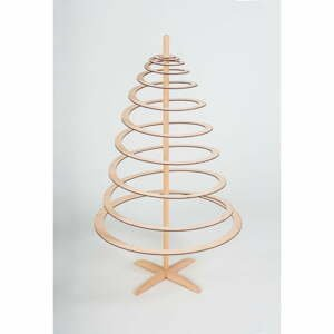 Drevený dekoratívny vianočný stromček Spira Small, výška 85 cm