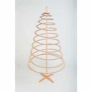 Drevený dekoratívny vianočný stromček Spira Large, výška 138 cm