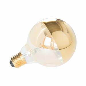 Žiarovka v zlatej farbe White Label Globe E27