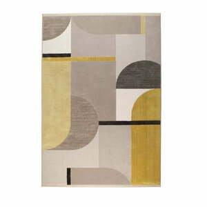 Žlto-sivý koberec Zuiver Hilton, 200 x 290 cm
