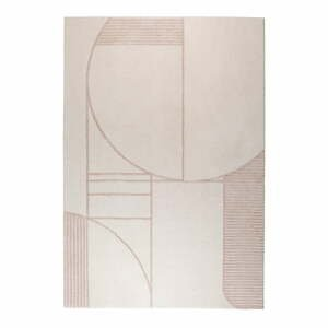 Sivo-ružový koberec Zuiver Bliss, 160 x 230 cm