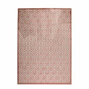 Ružový koberec Zuiver Beverly, 170 x 240 cm