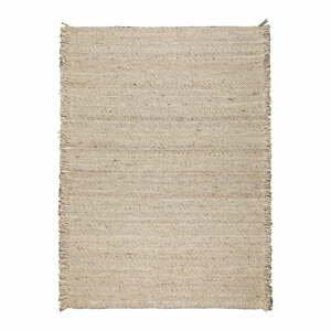 Béžový vlnený koberec Zuiver Frills, 170 x 240 cm