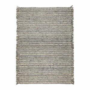 Sivý vlnený koberec Zuiver Frills, 170 x 240 cm
