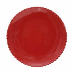Rubínovočervený kameninový tanier Costa Nova, ø 28,4 cm