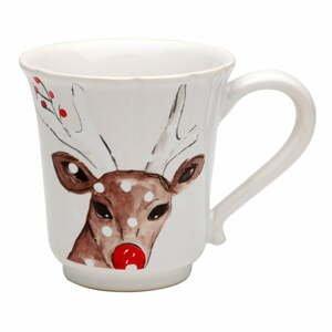 Kameninový vianočný hrnček Casafina Deer Friends, 320 ml