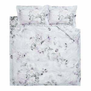 Fialovo-sivé bavlnené obliečky Bianca Amethyst, 200 x 200 cm