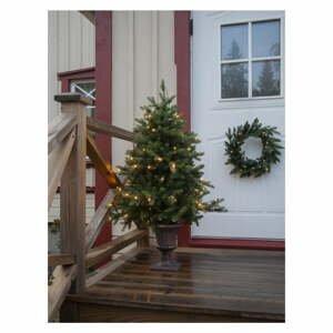 Umelý vianočný stromček s LED osvetlením Star Trading Byske, výška 120 cm