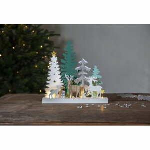 Vianočná svetelná LED dekorácia Star Trading Reinbek Forest