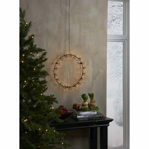 Vianočná závesná svetelná LED dekorácia Star Trading Drop Flower