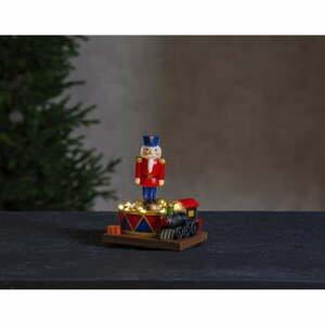 Vianočná svetelná LED dekorácia Star Trading Nutcracker