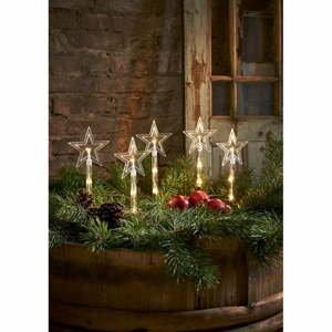 Vianočná vonkajšia svetelná LED dekorácia Star Trading Wandy
