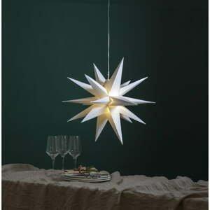 Biela vianočná vonkajšia svetelná LED dekorácia Star Trading Alice