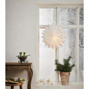 Biela vianočná svetelná dekorácia Star Trading Clipp