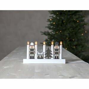 Vianočný LED svietnik Star Trading Julia