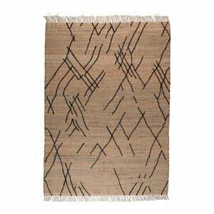 Hnedý koberec Dutchbone Ishank, 170 x 240 cm