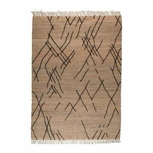 Hnedý koberec Dutchbone Ishank, 200 x 300 cm