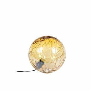 Stolová lampa v zlatej farbe Dutchbone Lune, ø 39 cm