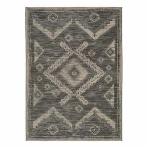 Sivý vonkajší koberec Universal Devi Ethnic, 160 x 230 cm