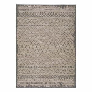 Béžový vonkajší koberec Universal Devi Line, 80 x 150 cm